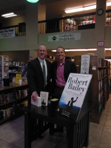 Me and my friend, Terry McCarthy