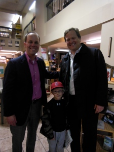 Me, Michael Vercher and Michael's son.