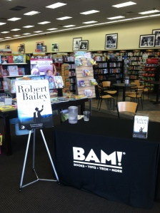 Our display at BAM!