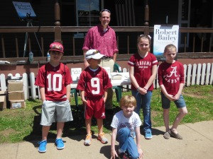 Me with the Bailey boys and the Fowler kids