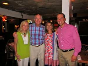 Joe and Foncie Bullard have been such incredible supporters!  It was such a fantastic night!