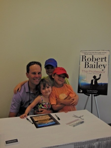 Me with Jimmy, Bobby and Allie.