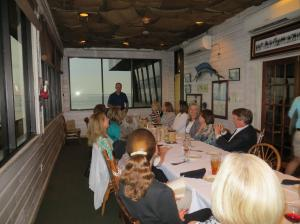 Great discussion at Felix's Fish Camp in Mobile!