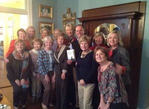 Great discussion at Sheila Irby's home in Huntsville!