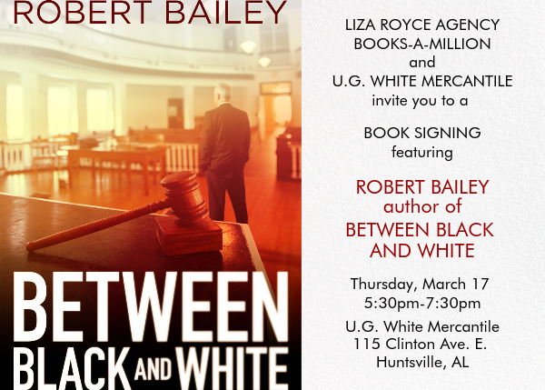 Book Launch (Between Black and White)