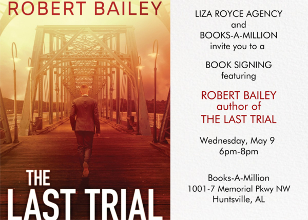 The Last Trial Book Launch