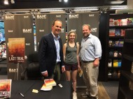 With Matt Robinette and daughter