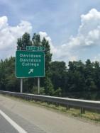 Davidson Exit