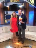With Ann Wyatt Little of Fox 46 News